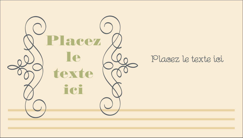 """3½"""" x 2"""" Carte d'affaire - Souhaits d'anniversaire"""