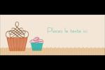 Petit gâteau Affichette - gabarit prédéfini. <br/>Utilisez notre logiciel Avery Design & Print Online pour personnaliser facilement la conception.