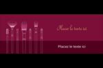 Brosses à cosmétiques Affichette - gabarit prédéfini. <br/>Utilisez notre logiciel Avery Design & Print Online pour personnaliser facilement la conception.