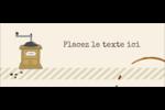 L'heure du café Affichette - gabarit prédéfini. <br/>Utilisez notre logiciel Avery Design & Print Online pour personnaliser facilement la conception.