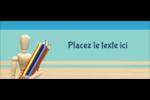 Enseignement des arts Affichette - gabarit prédéfini. <br/>Utilisez notre logiciel Avery Design & Print Online pour personnaliser facilement la conception.