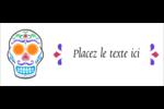 Le jour du Crâne Affichette - gabarit prédéfini. <br/>Utilisez notre logiciel Avery Design & Print Online pour personnaliser facilement la conception.