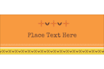 Customize your next project with pre-designed Geometric Orange Blossoms templates.