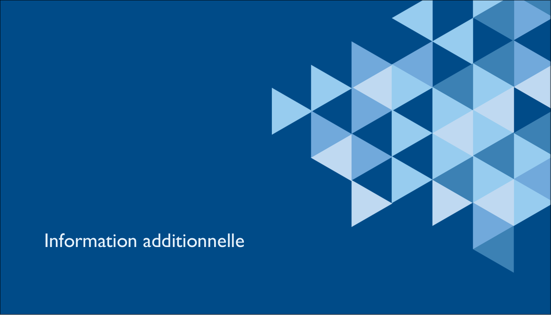"3½"" x 2"" Carte d'affaire - Angles bleus"