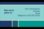 Bloc de couleur Carte d'affaire - gabarit prédéfini. <br/>Utilisez notre logiciel Avery Design & Print Online pour personnaliser facilement la conception.
