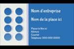 4e étage  Carte d'affaire - gabarit prédéfini. <br/>Utilisez notre logiciel Avery Design & Print Online pour personnaliser facilement la conception.
