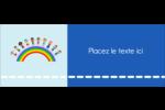 Éducation des enfants Étiquettes D'Adresse - gabarit prédéfini. <br/>Utilisez notre logiciel Avery Design & Print Online pour personnaliser facilement la conception.