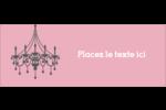 Chandelier Étiquettes D'Adresse - gabarit prédéfini. <br/>Utilisez notre logiciel Avery Design & Print Online pour personnaliser facilement la conception.