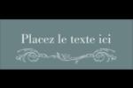 Cachet français Étiquettes D'Adresse - gabarit prédéfini. <br/>Utilisez notre logiciel Avery Design & Print Online pour personnaliser facilement la conception.