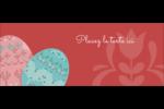 Tartan de Pâques Affichette - gabarit prédéfini. <br/>Utilisez notre logiciel Avery Design & Print Online pour personnaliser facilement la conception.