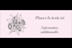Bouquet de fleurs Affichette - gabarit prédéfini. <br/>Utilisez notre logiciel Avery Design & Print Online pour personnaliser facilement la conception.