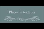 Cachet français Affichette - gabarit prédéfini. <br/>Utilisez notre logiciel Avery Design & Print Online pour personnaliser facilement la conception.