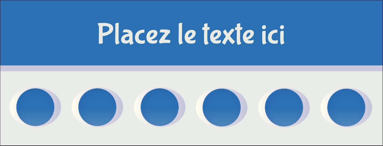 """1-7/16"""" x 3¾"""" Affichette - 4e étage"""