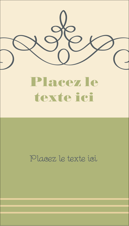 """2"""" x 3½"""" Carte d'affaire - Souhaits d'anniversaire"""
