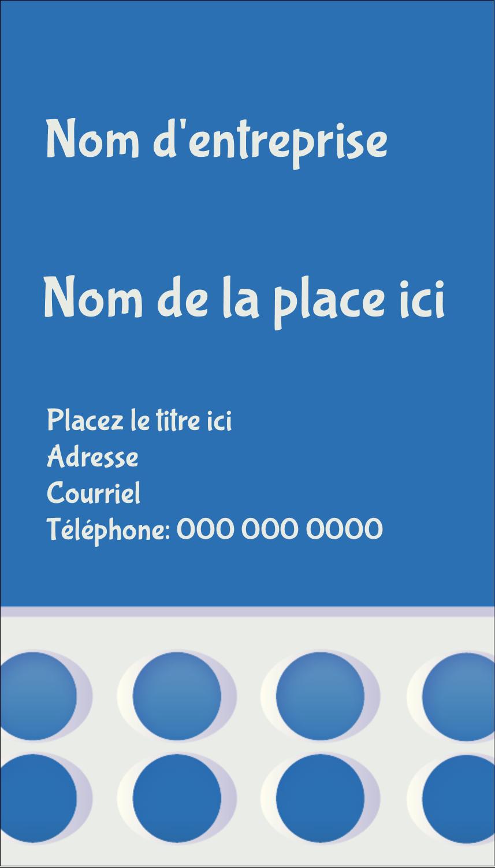 "2"" x 3½"" Carte d'affaire - 4e étage"