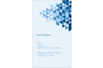 Angles bleus  Carte d'affaire - gabarit prédéfini. <br/>Utilisez notre logiciel Avery Design & Print Online pour personnaliser facilement la conception.