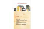 Menuiserie  Carte d'affaire - gabarit prédéfini. <br/>Utilisez notre logiciel Avery Design & Print Online pour personnaliser facilement la conception.