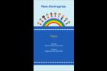 Éducation des enfants Carte d'affaire - gabarit prédéfini. <br/>Utilisez notre logiciel Avery Design & Print Online pour personnaliser facilement la conception.