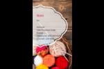 Tricot Carte d'affaire - gabarit prédéfini. <br/>Utilisez notre logiciel Avery Design & Print Online pour personnaliser facilement la conception.