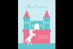 Château Carte Postale - gabarit prédéfini. <br/>Utilisez notre logiciel Avery Design & Print Online pour personnaliser facilement la conception.
