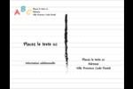 Enseignement préscolaire Carte Postale - gabarit prédéfini. <br/>Utilisez notre logiciel Avery Design & Print Online pour personnaliser facilement la conception.