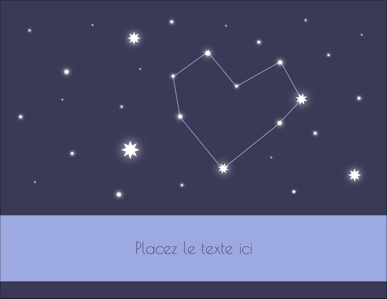 """4¼"""" X 5½"""" Carte Postale - Étoiles d'anniversaire"""