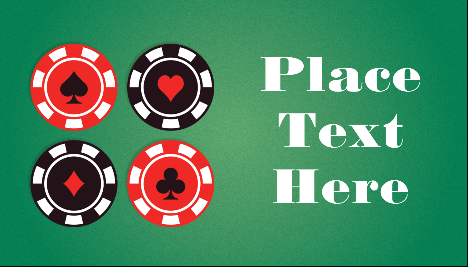 """2"""" x 3½"""" Business Card - Poker Game"""