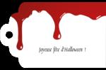 Halloween sanglante Étiquettes imprimables - gabarit prédéfini. <br/>Utilisez notre logiciel Avery Design & Print Online pour personnaliser facilement la conception.