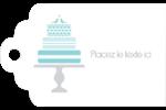 Figurines d'oiseau bleu pour gâteau de noces Étiquettes imprimables - gabarit prédéfini. <br/>Utilisez notre logiciel Avery Design & Print Online pour personnaliser facilement la conception.