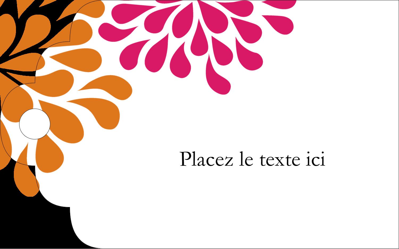 """2"""" x 1⅛"""" Étiquettes imprimables - Fête prénuptiale en rose et orange"""