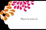 Fête prénuptiale en rose et orange Étiquettes imprimables - gabarit prédéfini. <br/>Utilisez notre logiciel Avery Design & Print Online pour personnaliser facilement la conception.