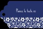 Petit bouquet bleu Étiquettes imprimables - gabarit prédéfini. <br/>Utilisez notre logiciel Avery Design & Print Online pour personnaliser facilement la conception.
