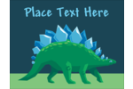 Go wild-customize business and personal projects with pre-designed Dinosaur templates.