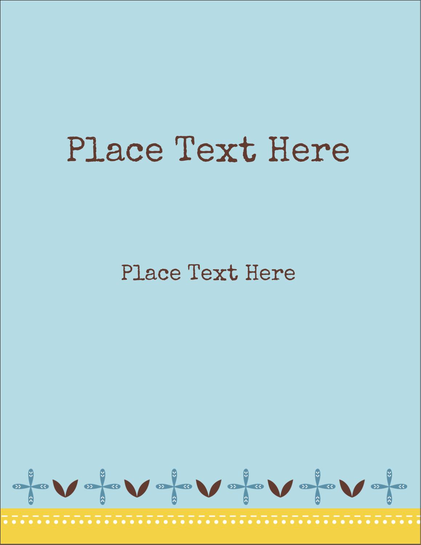 "4¼"" x 5½"" Postcard - Bath Blue"