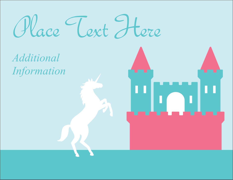 """4¼"""" x 5½"""" Postcard - Castle"""