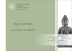 Add spiritual significance to projects with pre-designed, customizable Buddha templates.
