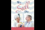 Anniversaire « Still Do » Carte Postale - gabarit prédéfini. <br/>Utilisez notre logiciel Avery Design & Print Online pour personnaliser facilement la conception.