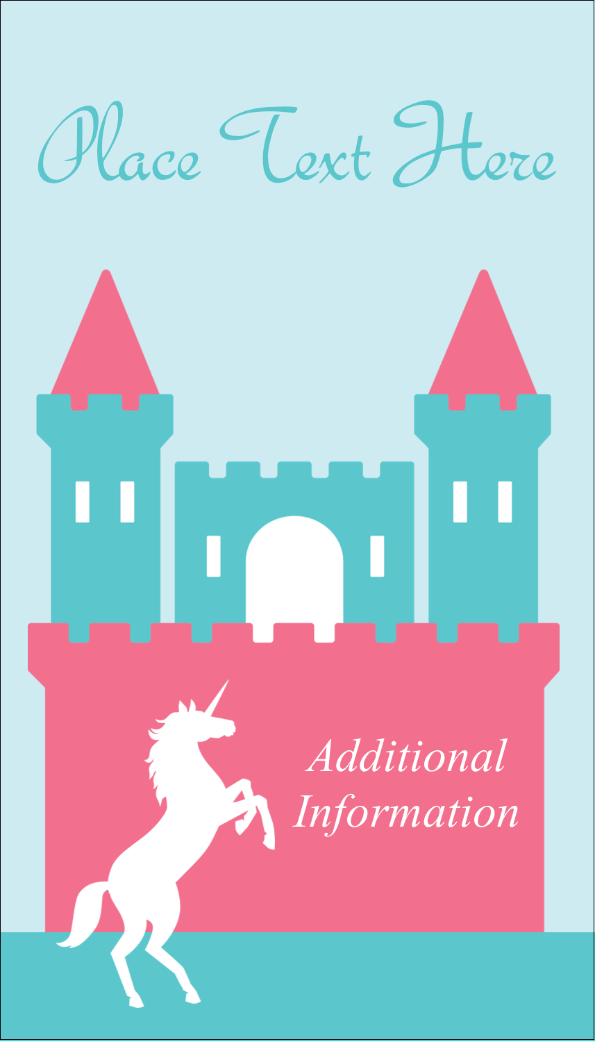 "3½"" x 2"" Business Card - Castle"