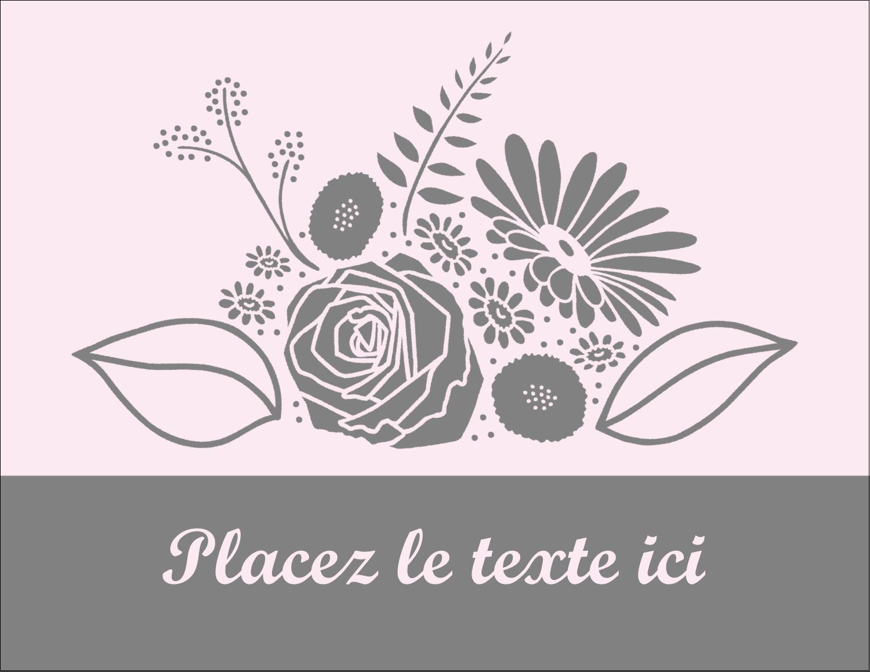"""4¼"""" X 5½"""" Carte Postale - Bouquet de fleurs"""