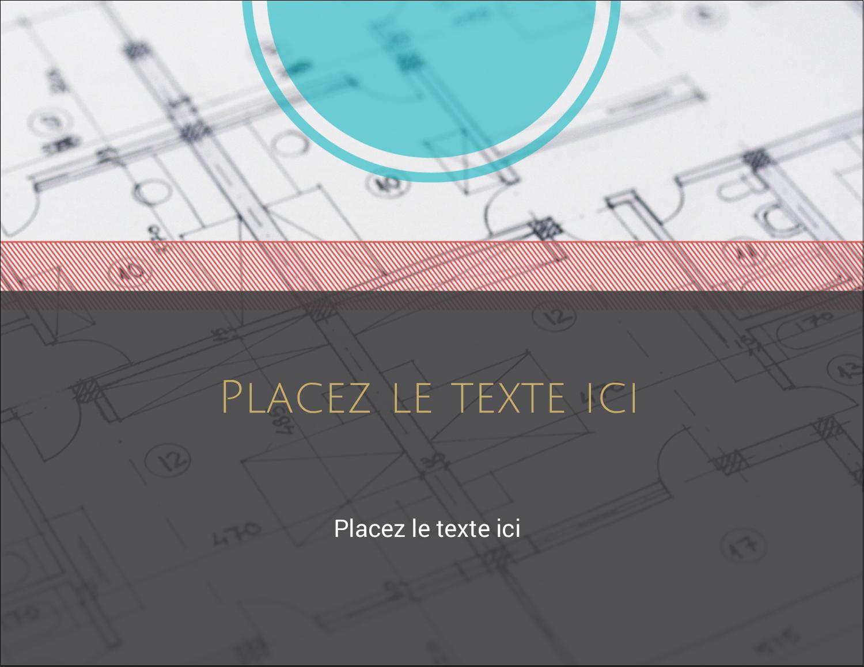 "4¼"" X 5½"" Carte Postale - Architecture"