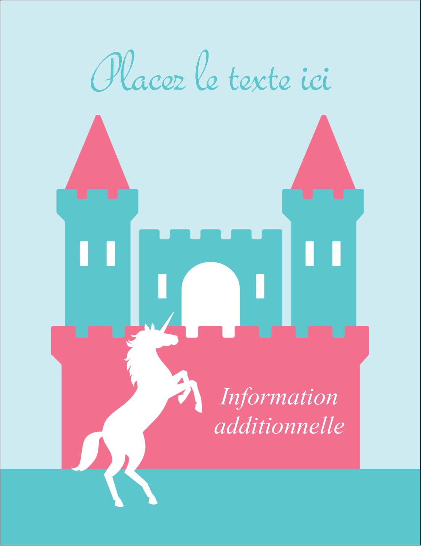 """5½"""" x 4¼"""" Carte Postale - Château"""