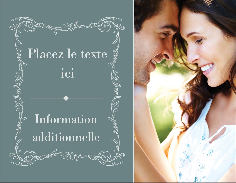 """4¼"""" X 5½"""" Carte Postale - Cachet français"""