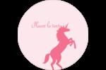 Château Étiquettes rondes - gabarit prédéfini. <br/>Utilisez notre logiciel Avery Design & Print Online pour personnaliser facilement la conception.