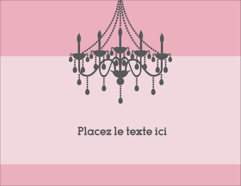 """4¼"""" X 5½"""" Carte Postale - Chandelier"""