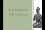 Bouddha Carte Postale - gabarit prédéfini. <br/>Utilisez notre logiciel Avery Design & Print Online pour personnaliser facilement la conception.