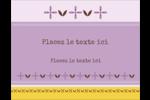 Lavande géométrique Carte Postale - gabarit prédéfini. <br/>Utilisez notre logiciel Avery Design & Print Online pour personnaliser facilement la conception.