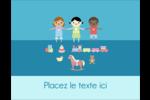 Éducation et préscolaire Carte Postale - gabarit prédéfini. <br/>Utilisez notre logiciel Avery Design & Print Online pour personnaliser facilement la conception.