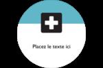 Croix médicale Étiquettes rondes - gabarit prédéfini. <br/>Utilisez notre logiciel Avery Design & Print Online pour personnaliser facilement la conception.