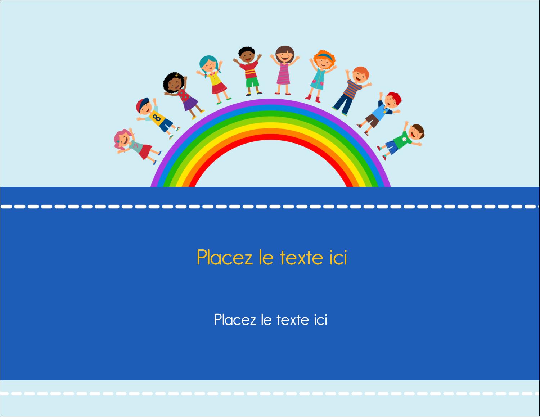 """4¼"""" X 5½"""" Carte Postale - Éducation des enfants"""