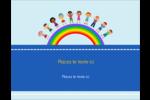 Éducation des enfants Carte Postale - gabarit prédéfini. <br/>Utilisez notre logiciel Avery Design & Print Online pour personnaliser facilement la conception.